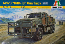 ITALERI 1:35 KIT MEZZO MILITARE M923 HILLBILLY GUN TRUCK LUNGHEZZA 24,8 CM  6513