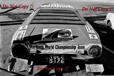 Sandro Munari Lancia Stratos HF ganador cobraba lagos fotografía Rally 1974 5