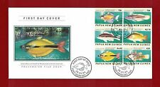 2004 Papua New Guinea Fish SG 1003/8 Set 6 FDC