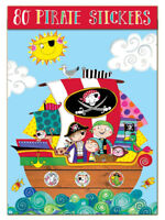 Childrens Stickers - PIRATE by Rachel Ellen - Party Present Crafts Gift