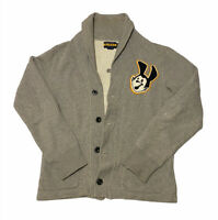 Polo Ralph Lauren Collar XS Varsity Sweater Cardigan Custom Patch Rugby RRL
