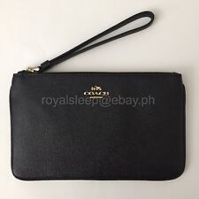 COACH Crossgrain Leather Large Wristlet **Brand New w/ Tag** Wallet