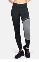 Leggings Under Armour 1322091 Donna Coldgear Pantaloni Sport Palestra Leggero