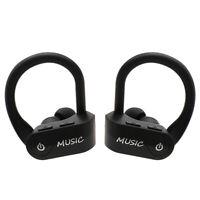 TWS Wireless Bluetooth Headset Super Bass Earbud IPX5 Waterproof Earphone Mic