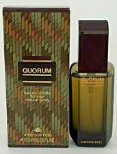 QUORUM ANTONIO PUIG Cologne Men 0.65oz/20ml Eau de Toilette Spray (VINTAGE 1993)