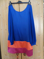 Lipsy short dress, Blue,Pink, orange, size UK 12