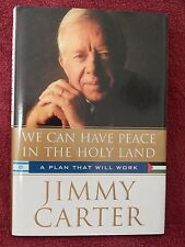 "JSA CERTIFIED AUTOGRAPHED>BOOK>BY PRESIDENT JIMMY CARTER>""A PLAN THAT WILL WORK"""