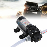 60W Electric 12V Oil Pump Fuel Oil Engine Oil Extractor Transfer Pump for Car MF