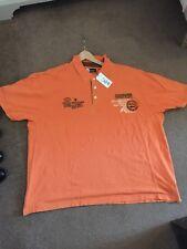 Deux gros Fashion Polo Shirts 4XL, 100% coton, NEUF avec étiquettes, maintenant deux pour £ 10.00