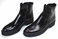 PRADA WOMAN ANKLE BOOTS BOOTIES WINTER CASUAL LEATHER CODE 3T5880