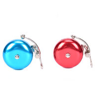 Bicycle Retro English Bell Ringing Bell Aluminum Blue Red Bike Bell Vintage Fy