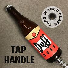 new Duff Beer Tap Handle The Simpsons Bar Marker Moe'S Tavern bottle Pull Keg
