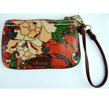 Sakroots Floral Wristlet made from Recycled Plastic Bottles & Vegan Faux Leather