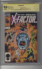 X-Factor (1986) # 6 CBCS 9.8 White Pages SS3X McLeod, Simonson First Apocalypse