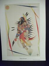 Native American Art-Print-Joihnny Tiger Jr.