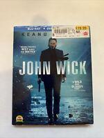 John Wick w/ Slipcover (Bluray/DVD, 2014) [BUY 2 GET 1]