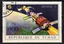République du TCHAD - 1972 - Soyouz 11 - Poste aérienne N° 107 oblitéré