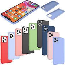 For iPhone 11 Pro/Max/11 Liquid Silicone Case Protective Slim Hybrid Cover Skin