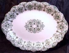 Antique J & G Meakin Genoa Art Nouveau England 16 in Oval Platter