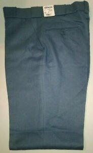NWT Elbeco Pants E8601R Sz 36R Police Security Uniform Pants Comfort Grip Blue