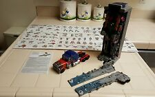 "Transformers Optimus Prime 12"" Trailer with Flashing Lights & Noise"