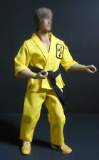 1/6 BRUCE LEE ENTER THE DRAGON INSPIRED YELLOW  TOURNAMENT OUTFIT WITH SHOES