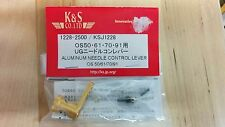K&S Gold Aluminum Needle Control Lever OS 50/61/70/91 KSJ1228