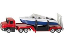 Siku Diecast Vehicle Model - 1613 Low Loader With Boat