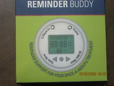 Once A Month Pill Reminder Injection Medicine Reminder Buddy Alarm New