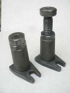 2 vérin haut avec contre écrou mini 140mm maxi 200mm (3)