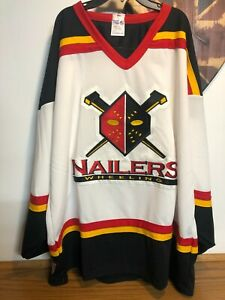 Wheeling Nailers 1990s Athletic Knit Authentic Jersey - Mens XXL