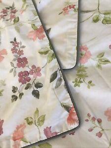 Gracious 100% Cotton Linen House Queen Quilt Cover 2 PC + Cushion Cover