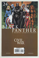 Black Panther 24 2007 Civil War Captain America Iron Man Hudlin Turner Marvel P