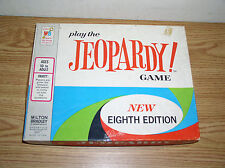 VINTAGE 1964 MILTON BRADLEY JEOPARDY! GAME 4457, NEW EIGHTH EDITION