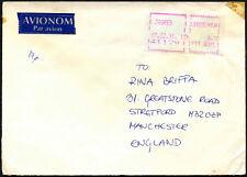 JUGOSLAVIA 1991 MACCHINA etichetta commerciale di copertura per UK #C43596