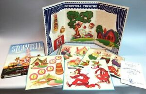 Theatrical Screen Play Set - Storytell Theatre Present -The Three Little Pigs