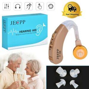 Digital Hearing Aid Device Behind the Ear Enhancement Amplifier High-Power Sound