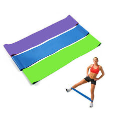 Fitness Exercise Workout Home Training For Elastic Resistance Band Loop Stretch