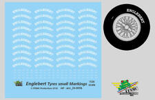 [FFSMC Productions] 1/24 Decals Englebert markings for tyres (small size)