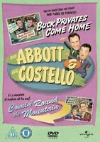 Abbott And Costello: Buck Privates/Comin' Round The Mountain [DVD][Region 2]
