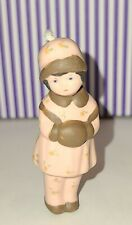 Antique Miniature Frozen Charlotte Penny Bisque Doll with Moveable Bobble Head