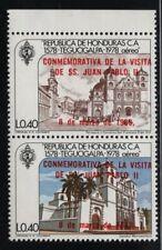 Honduras 1983 Pope John Paul's Visit set Sc# C724-25 NH