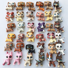 3pcs Random Littlest Pet Shop LPS Dachshund Great Dane Collie Sausage Dog