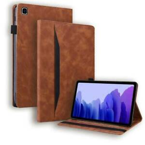 For Samsung Galaxy Tab A A7 S7 Plus Case Cover Slim Leather Anti-slip Shell Safe