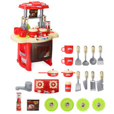 Pretend Kitchen Tool Tableware Sets Cooking Kits Simulation Toys for Boys Girls