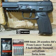 FN Herstal Five-seveN Licensed/Trademarked co2 Blowback Airsoft Gun 1000bb/5co2s
