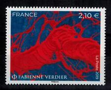 """(b21) timbre France nouveauté année 2019 """"fabienne Verdier"""""""