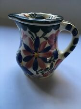 Vintage PERSIAN WARE Hand Painted FLORAL Creamer With Lid Made In GERMANY