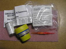 CINCH CONNECTOR W/CONTACTS # CNG6S23-55PN  NSN: 5935-01-337-7077