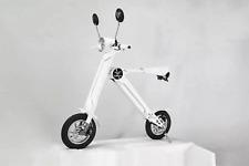 K1 Mofa +, Elektroroller,20 km/h-keine Helmpflicht,faltbar,klappbar,WHITE